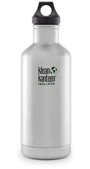 Klean Kanteen Classic Vacuum Insulated 32oz (946 ml) Brushed Stainless